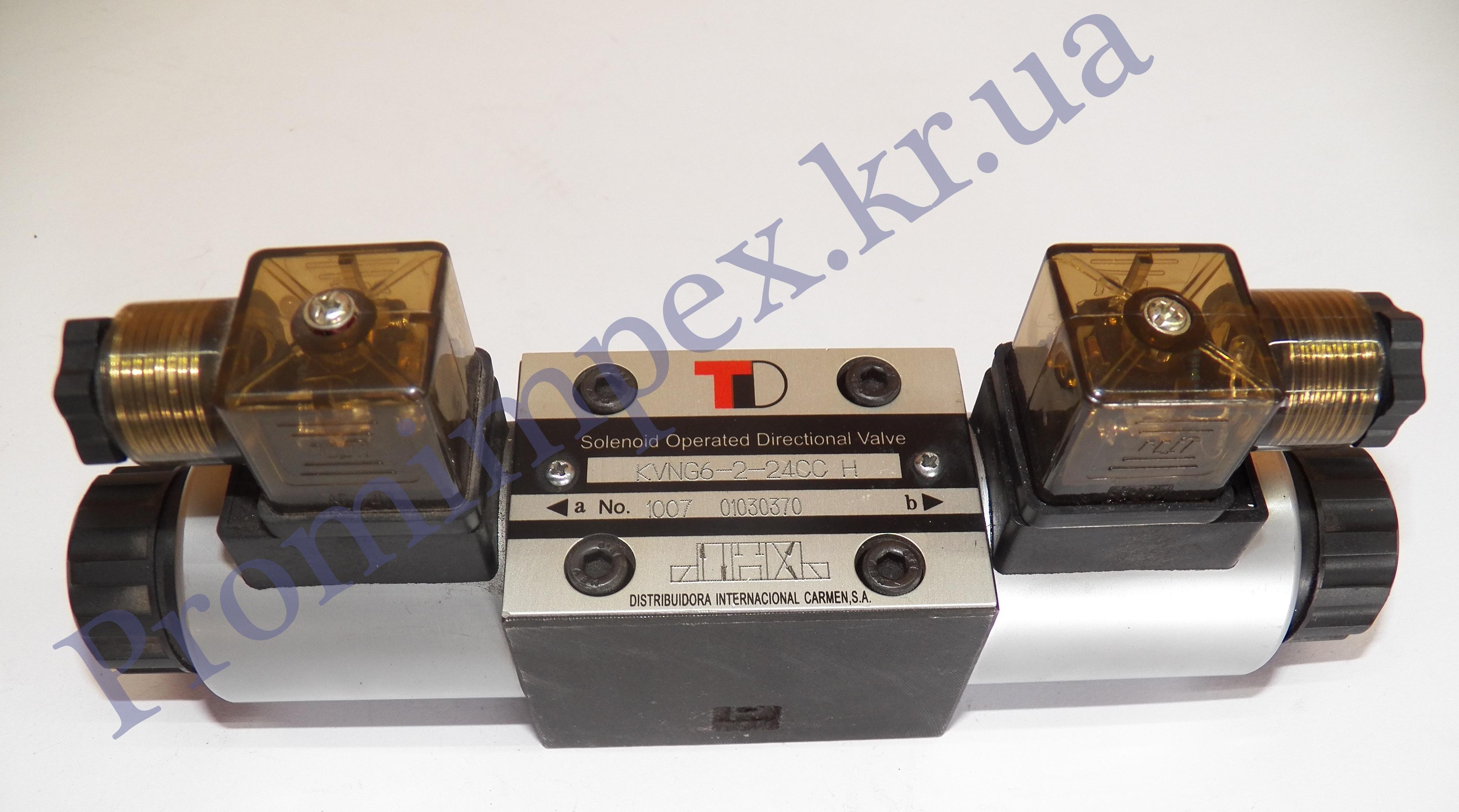Гидрораспределители с электромагнитным управлением