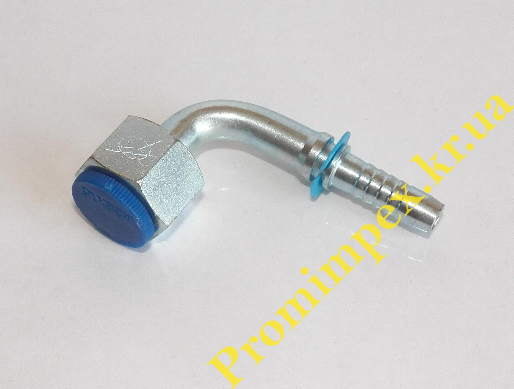 Фитинг гидравлический для РВД тип DKOL Ø10 90º M22x1,5 15L