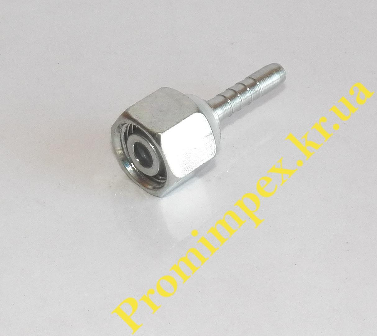 Фитинг гидравлический для РВД тип DKOL Ø6 M18x1,5 12L