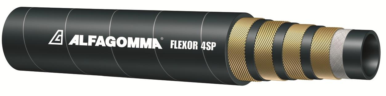 Рукав гидравлический /РВД Alfagomma FLEXOR 4SP