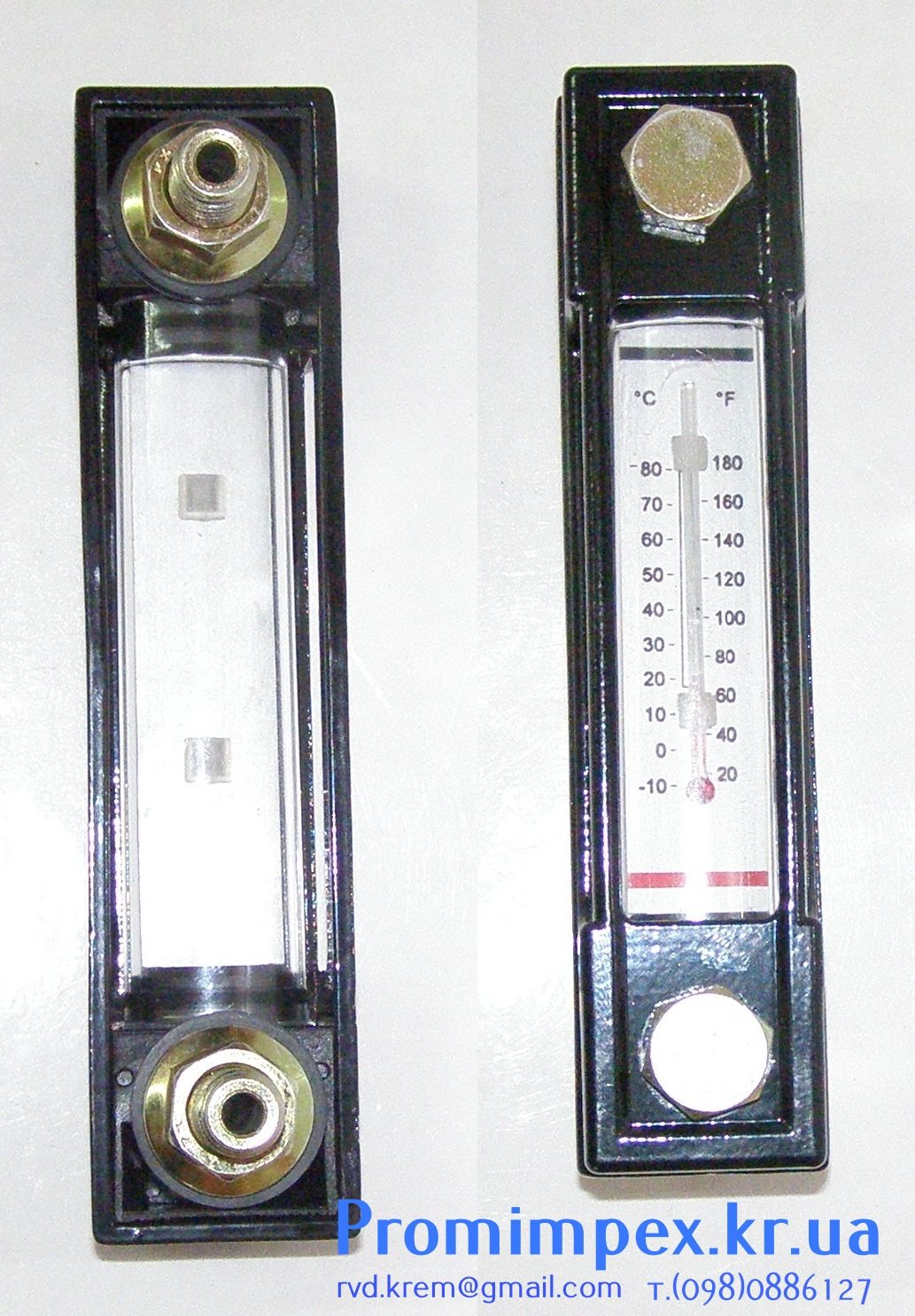 Указатель уровня масла с термометром