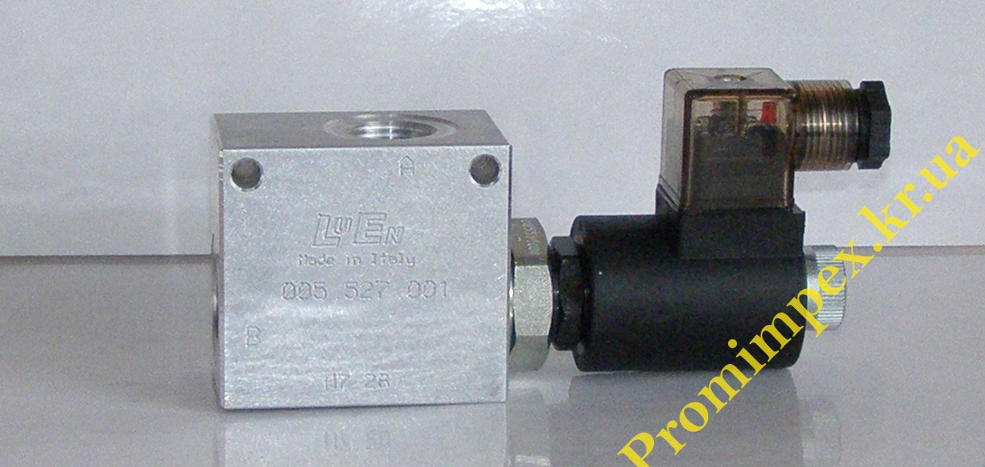 Клапан нормально/открытый 24V 80л/мин 230Bar