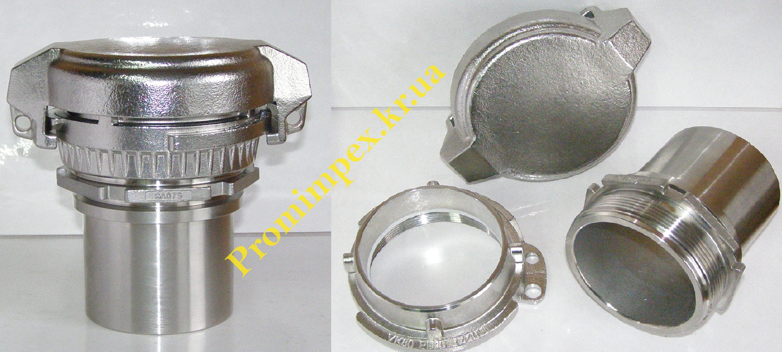 Фитинговое соединение промрукава EN14420-2/GA075 VK80